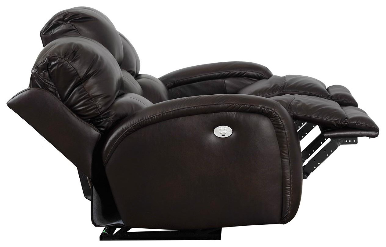 Fandango 884 Power Headrest Reclining Sofa With Casual Style For Family Rooms Sadler S Home