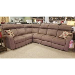 Southern Motion First Class - 718 4-Piece Power Reclining Sectional