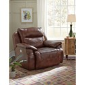 Southern Motion Five Star Power Headrest Reclining Chair and a Half