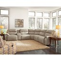 Southern Motion Five Star Five Seat Reclining Sectional