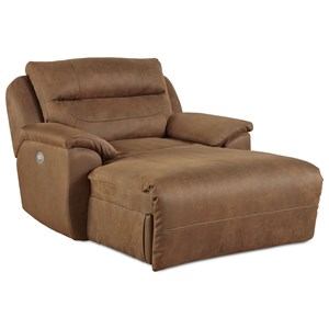 Southern Motion Five Star Reclining Chaise with Power Headrest