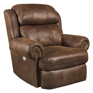 Southern Motion Forum Rocker Recliner with Power Headrest