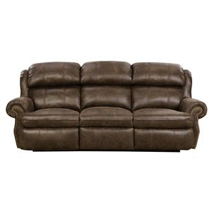Southern Motion Forum Double Reclining Sofa with Power Headrest