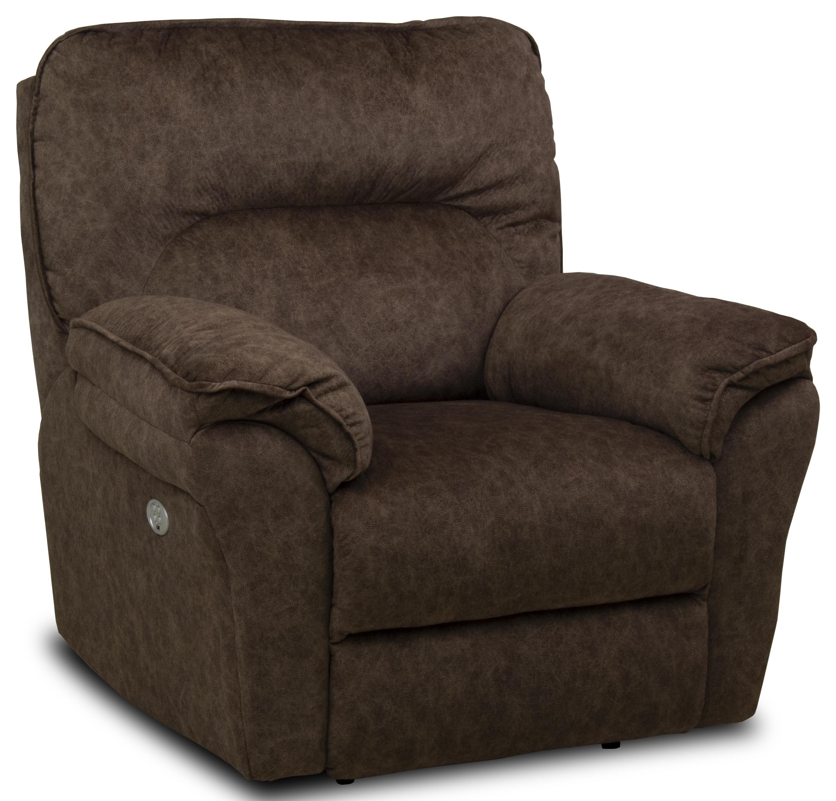 Full Ride Power Headrest Wallhugger Recliner by Southern Motion at Ruby Gordon Home