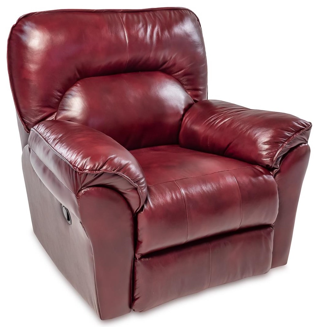 Leather Wallhugger Recliner