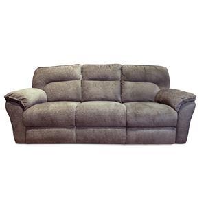 Power Headrest Double Reclining Sofa