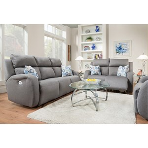 Southern Motion Grand Slam Reclining Living Room Group