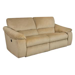 Design to Recline Gravity Double Reclining Sofa with 2 Wide Seats