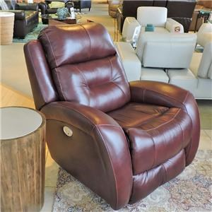 Recliner w/ Power Headrest and Lumbar Suppor