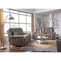 Southern Motion Grid Iron Power Reclining Living Room Group - Item Number: 722 Living Room Group 1