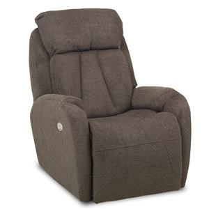 ComfortZone Hard Rock Wall Hugger Recliner with Power Headrest