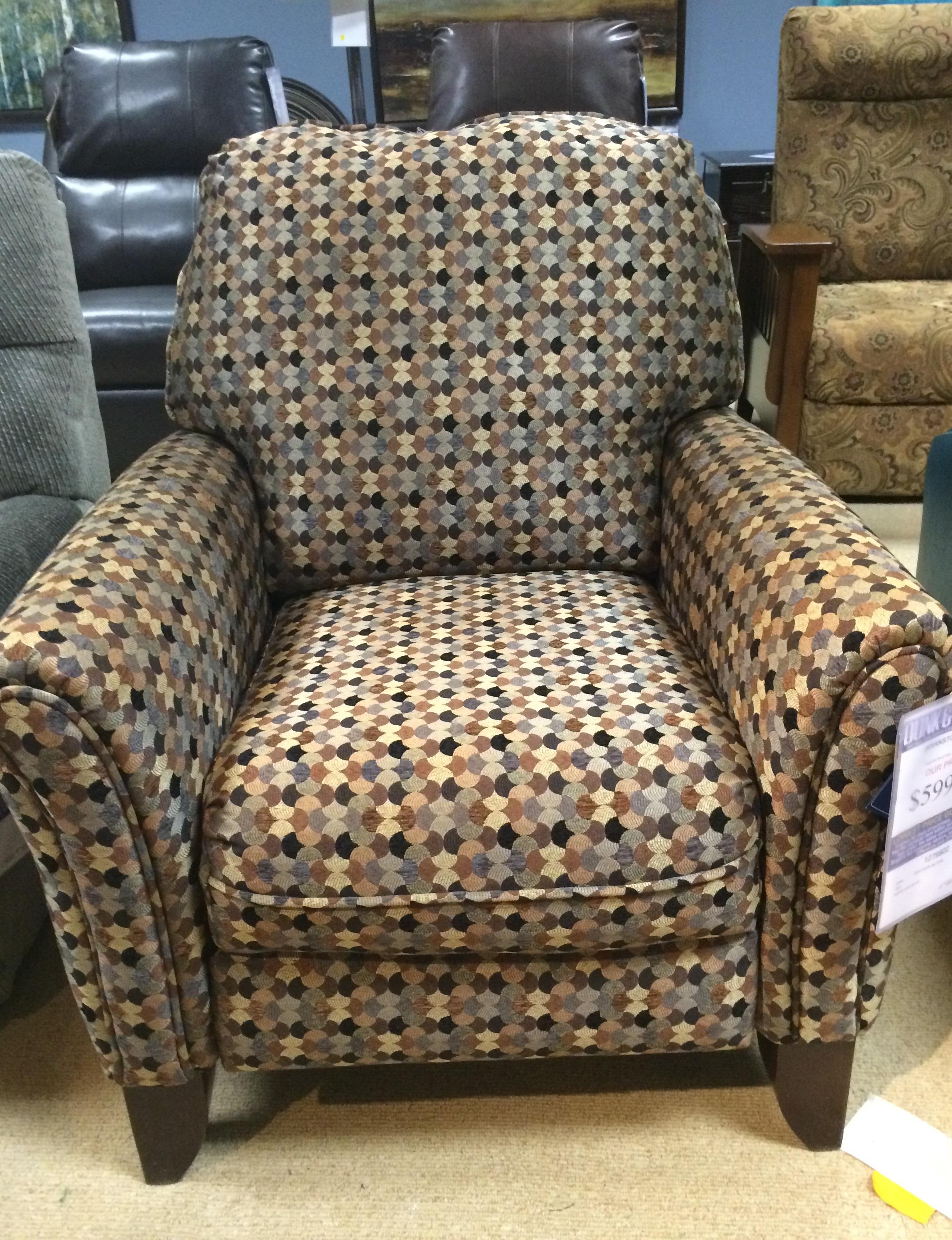 Southern Motion Hi Leg Recliner   Item Number: 1603 Chair