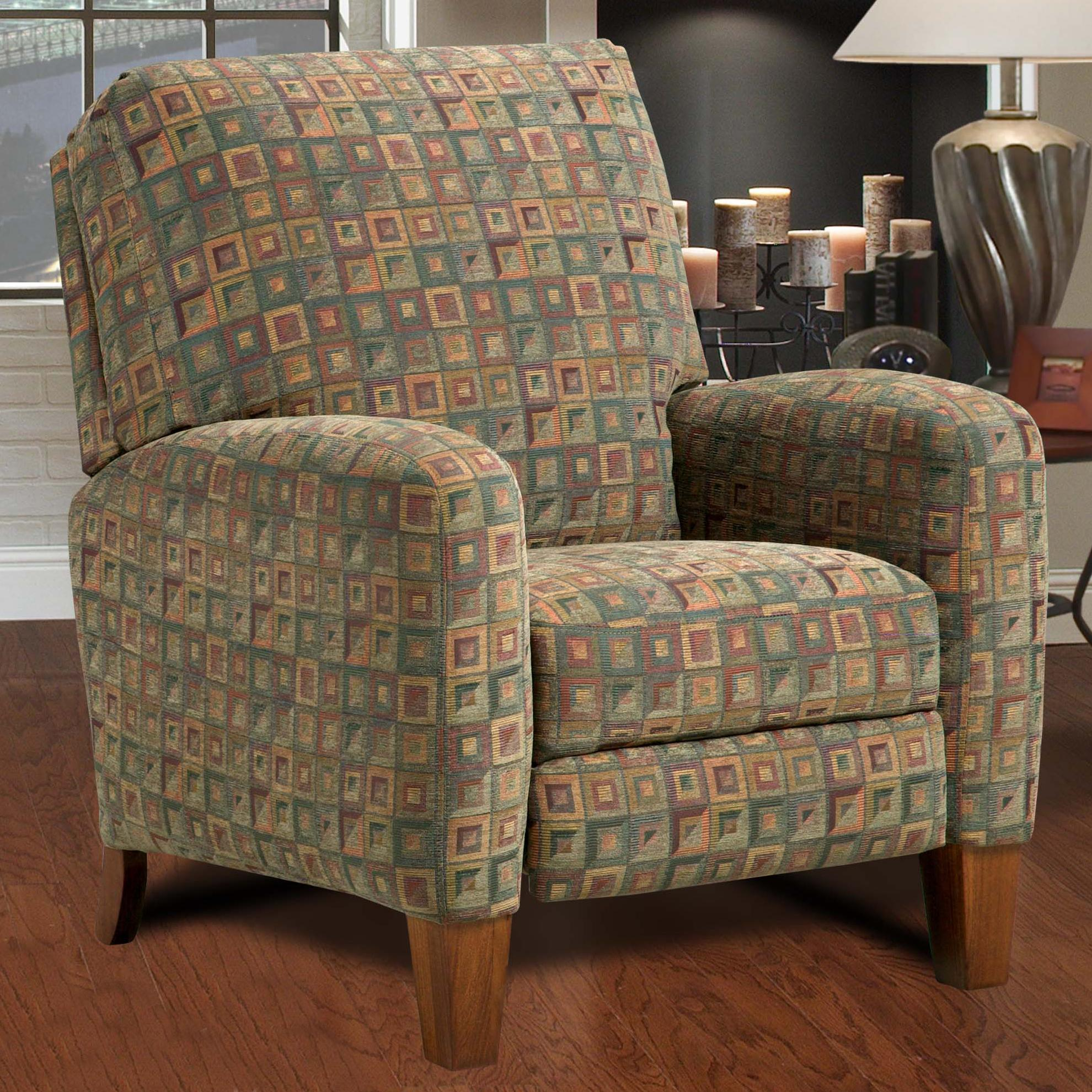 Southern Motion Breckenridge High Leg Recliner With Track