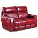 Southern Motion High Rise Double Reclining PWR HDRST WP Loveseat  - Item Number: 671-51P WP-906-42