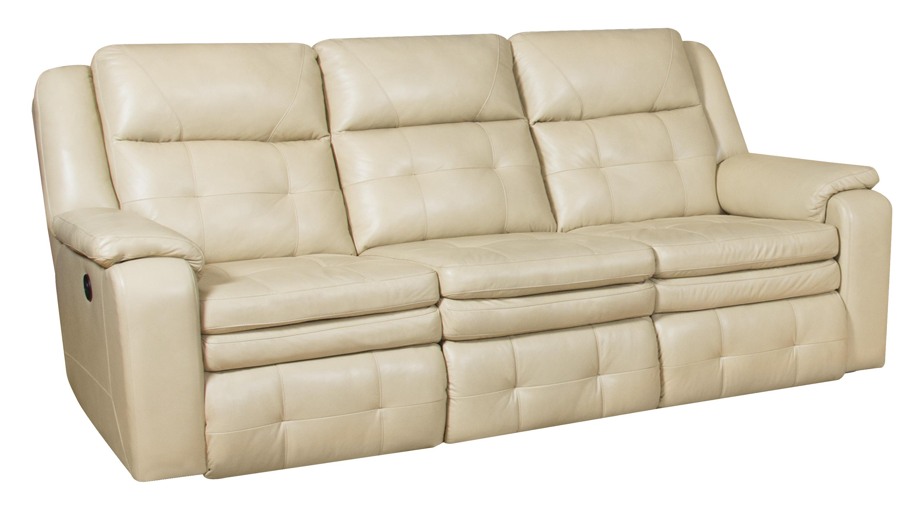 Double Reclining Sofa With Headrest