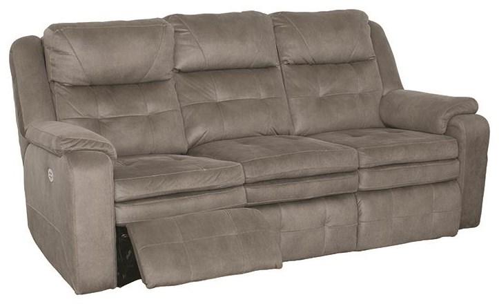 Dual Reclining Power Sofa With Power Headres
