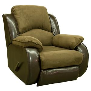 Design to Recline Jolson Power Rocker Recliner