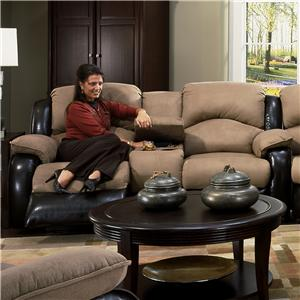 Design to Recline Jolson Power Reclining Console Sofa