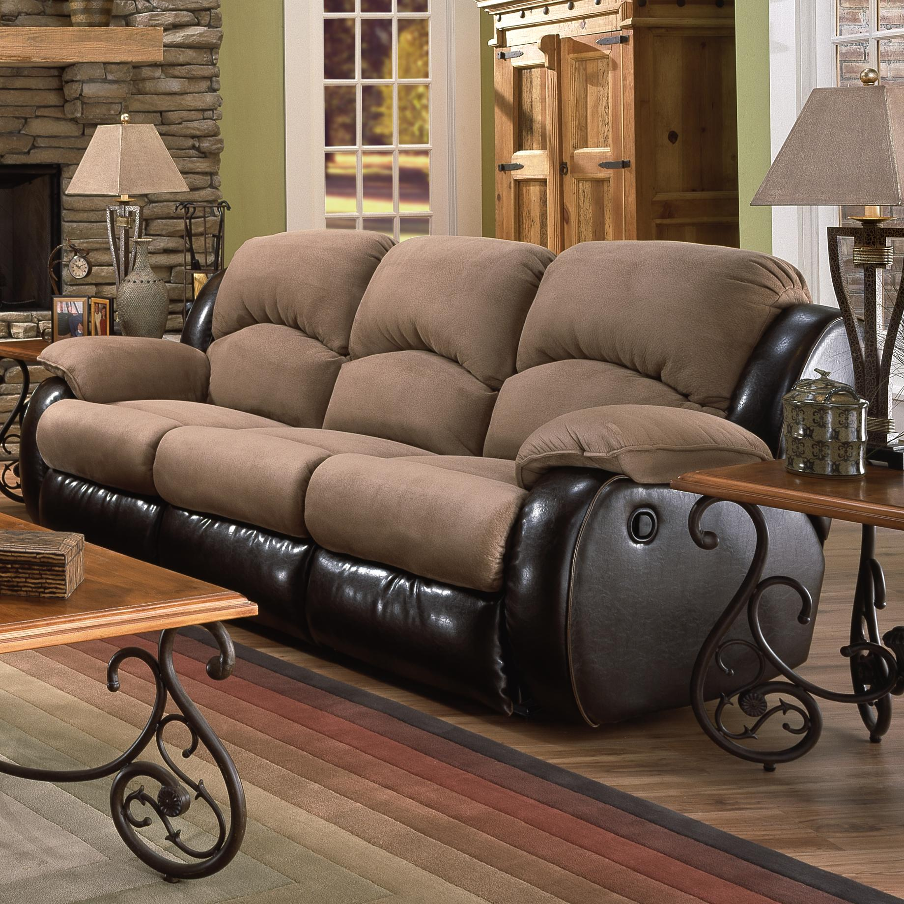 Southern Motion Jolson Power Reclining Sofa - Item Number: 706-31 PWR