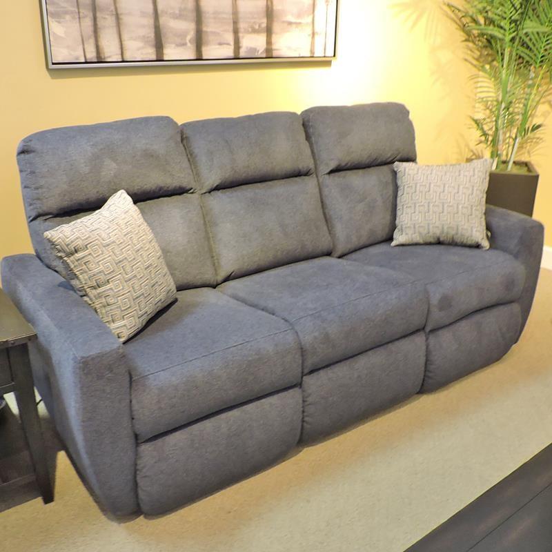 Reclining Sofa w/ Power Headrest