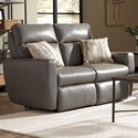 Southern Motion Knock Out Double Reclining Loveseat w/ Power Headrest - Item Number: 865-51P 440-14