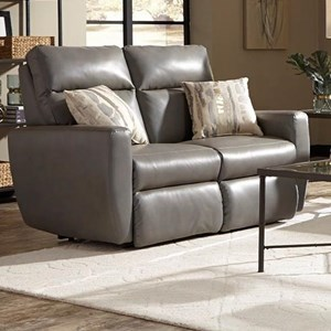 Reclining Loveseat w/ Pillows & Pwr Headrest