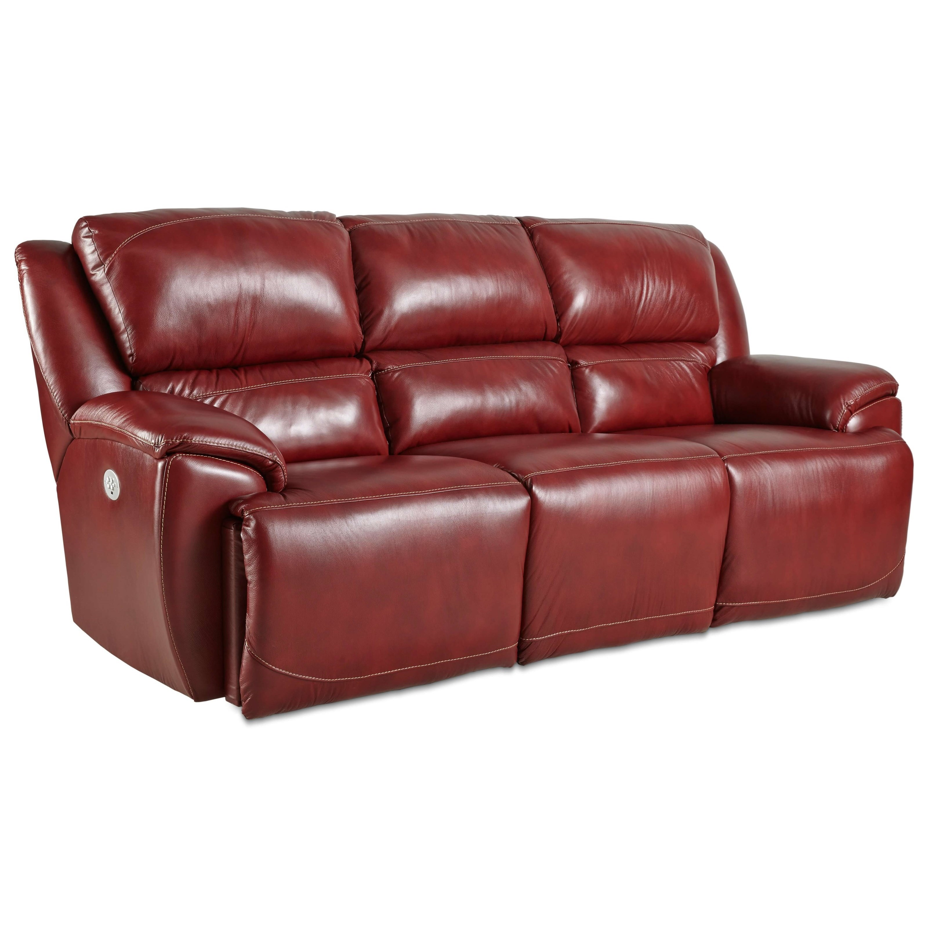 Southern Motion Majestic Double Reclining Sofa with Power Headrests - Item Number: 871-61P-906-42