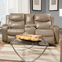 Southern Motion Marvel Reclining Sofa with Console & Power Headrest - Item Number: 881-78P