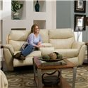 Southern Motion Monaco Double Reclining Rocking Loveseat - Item Number: 564-41-905-19