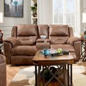 Southern Motion Pandora Power Double Reclining Console Loveseat - Item Number: 751-28P-236-21