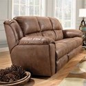 Southern Motion Pandora Reclining Sofa with Power Headrests - Item Number: 751-61P-Brown-751