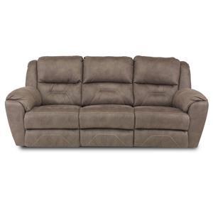 ComfortZone Pandora Reclining Sofa with Power Headrests