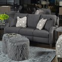 Southern Motion Primrose Park Wireless Double Reclining Sofa w/ Pillows - Item Number: 684-32PLUS WP-269-14