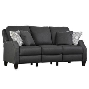 Double Reclining PowerPlus Sofa with Pillows