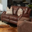 Southern Motion Crestview Power Headrest Loveseat with Pillows - Item Number: 684-52P