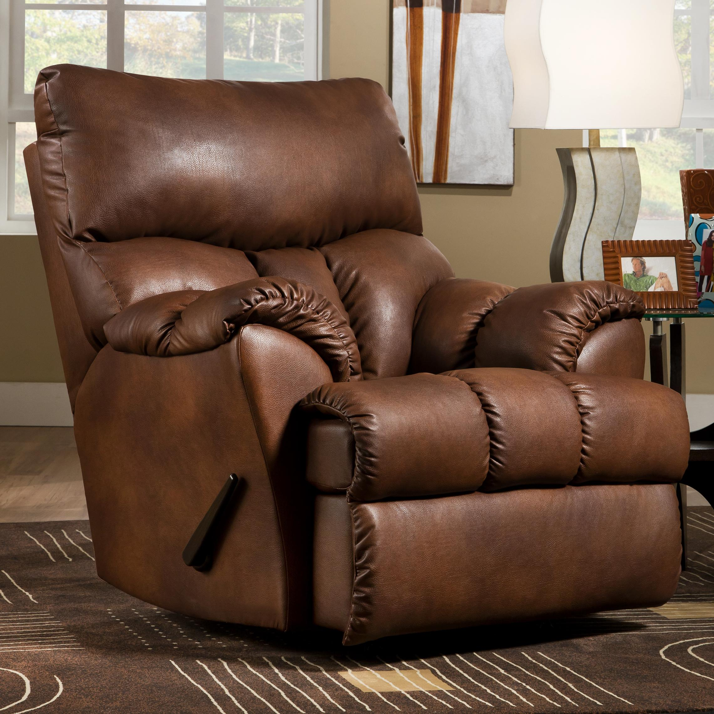 Southern Motion Re-Fueler  Powerized Rocker Recliner  - Item Number: 1113 PWR