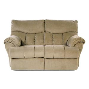 Design to Recline Full Relaxer Lay-Flat Reclining Loveseat