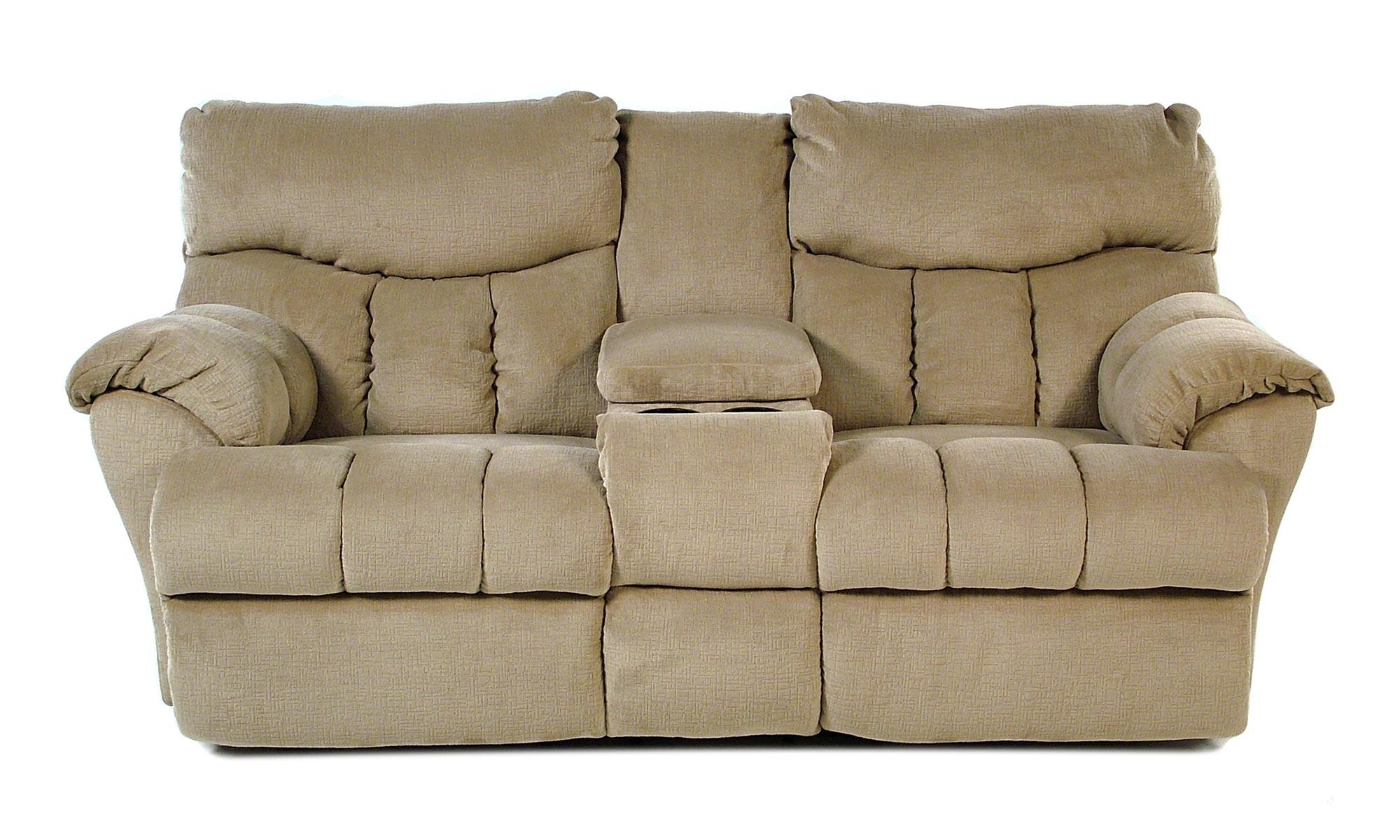 Design To Recline Full Relaxer Lay Flat Power Reclining Console  ~ Sofa Recliner With Console