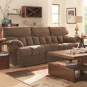 Southern Motion Re-Fueler  Power Plus Double Reclining Sofa  - Item Number: 813-31PLUS-185-14
