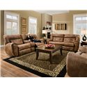 Southern Motion Regency Double Reclining Sofa with 2 Seats