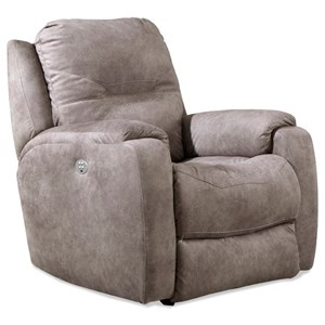Southern Motion Royal Flush Pwr Headrest Wall Hugger Recliner w/ Lumbar