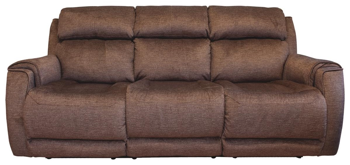 Wildside Power Double Reclining Sofa by Design to Recline at Rotmans