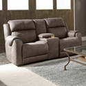 Southern Motion Safe Bet Power Headrest Reclining Loveseat - Item Number: 757-78P-299-09