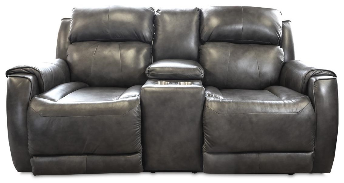 Santino - Wildside Power Headrest Reclining Loveseat by Design to Recline at Rotmans