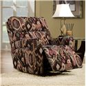Southern Motion Savannah  Casual and Contemporary Family Room Rocker Recliner - Recliner Shown May Not Represent Exact Features Indicated