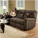 Belfort Motion Parker Contemporary Styled Double Reclining Sofa for Family Rooms - Sofa Shown May Not Represent Exact Features Indicated
