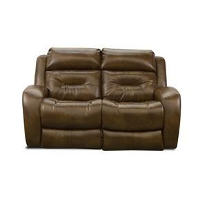 ComfortZone Showcase Double Reclining Loveseat with Pwr Headrest