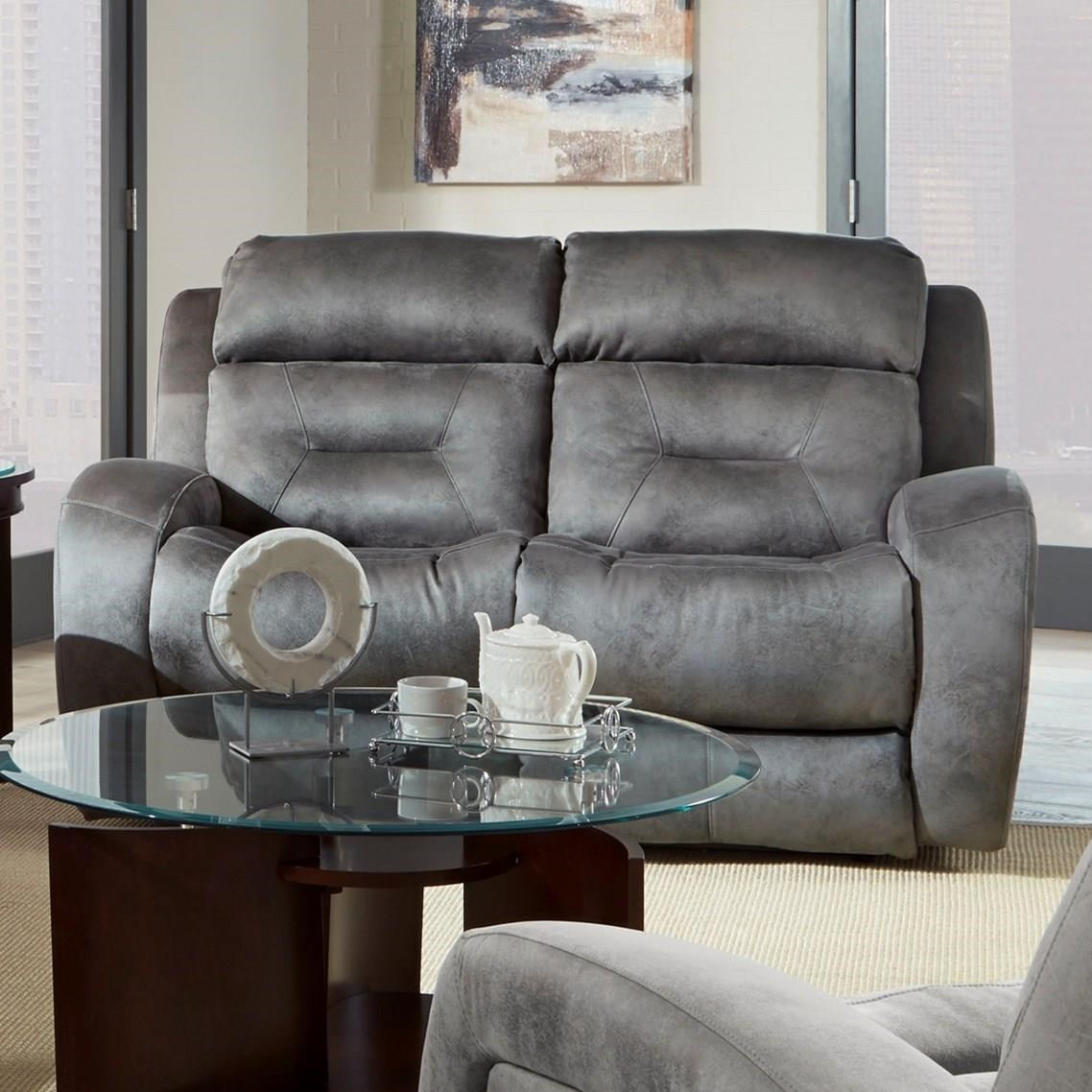Southern Motion Showcase Double Reclining Loveseat With