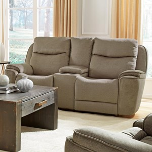Dbl Recl Loveseat w/ Console & Cupholders