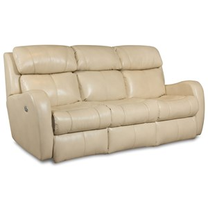 Belfort Motion Siri Double Reclining Sofa w/ Power Headrest
